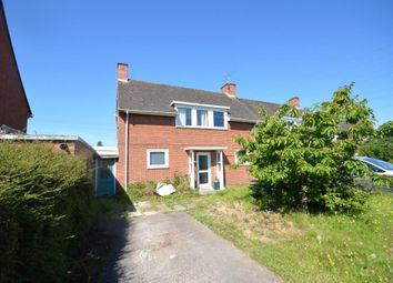 Thumbnail 3 bedroom semi-detached house for sale in Topsham Road, Countess Wear, Exeter, Devon