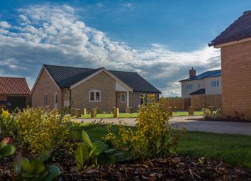 Thumbnail 3 bed detached bungalow for sale in Magpie Close, Holt