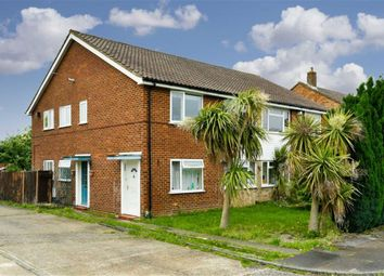 Thumbnail 2 bed maisonette for sale in Larkspur Way, West Ewell, Surrey