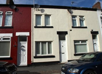 Thumbnail 2 bed terraced house to rent in Silverlea Avenue, Wallasey, Wirral