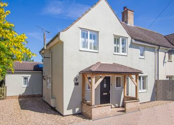 Thumbnail 4 bed semi-detached house for sale in Duxford Road, Whittlesford, Cambridge
