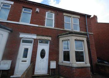 Thumbnail 3 bed terraced house for sale in Newbiggin Road, Ashington