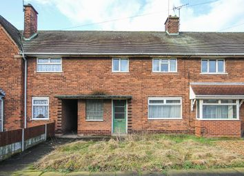 Thumbnail 2 bedroom terraced house for sale in Aldis Road, Pleck, Walsall