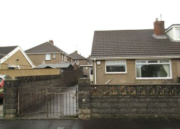 Thumbnail 2 bed semi-detached bungalow for sale in St. Pauls Road, Port Talbot, Neath Port Talbot.