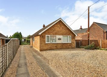 Thumbnail 3 bed detached bungalow for sale in Church Road, Cantley, Norwich