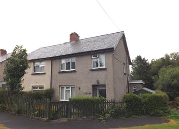 Thumbnail 3 bed semi-detached house for sale in Heol Elennydd, Devils Bridge, Aberystwyth