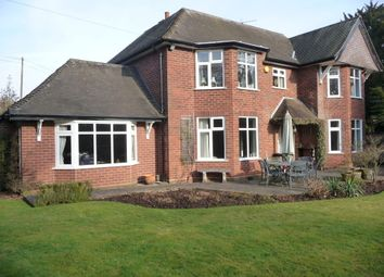 Thumbnail 4 bed detached house for sale in The Old Lawn, Lysways Lane, Longdon Green