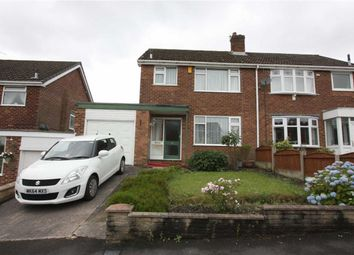 Thumbnail 3 bedroom semi-detached house for sale in Langholm Drive, Breightmet, Bolton