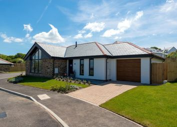 Thumbnail 2 bed detached bungalow for sale in Bellier's Close, St. Ives, Cornwall