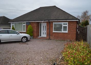 Thumbnail 3 bed detached bungalow for sale in Shrewsbury Road, Market Drayton