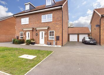 Thumbnail 4 bed semi-detached house for sale in Aurelius Way, North Hykeham, Lincoln