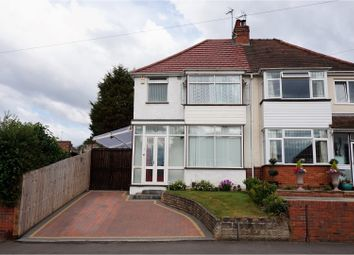 Thumbnail 3 bed semi-detached house for sale in Witley Avenue, Halesowen