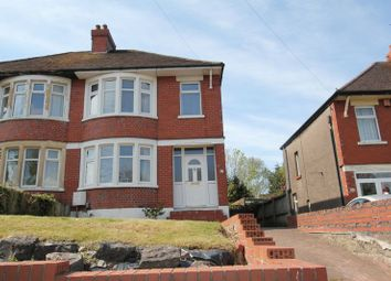 Thumbnail 3 bedroom semi-detached house for sale in Pontypridd Road, Barry