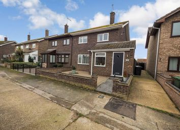 Thumbnail 3 bed semi-detached house for sale in Bramble Gardens, Belton, Great Yarmouth