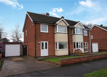 Thumbnail 3 bed semi-detached house for sale in Hawerby Road, Laceby, Grimsby