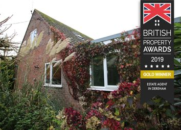 Thumbnail 4 bedroom detached bungalow for sale in The Common, South Creake, Fakenham