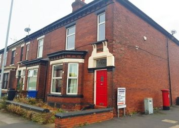 Thumbnail 3 bed end terrace house to rent in Carrington Road, Stockport