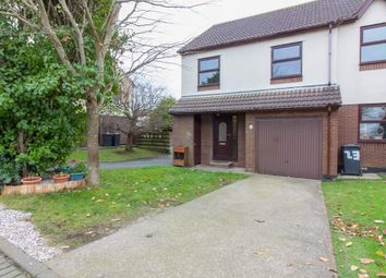 Thumbnail 3 bed town house for sale in 21 Cronk Y Berry Avenue, Douglas