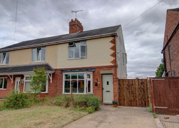 Thumbnail 2 bed semi-detached house for sale in Park Lane, Tutbury, Burton-On-Trent