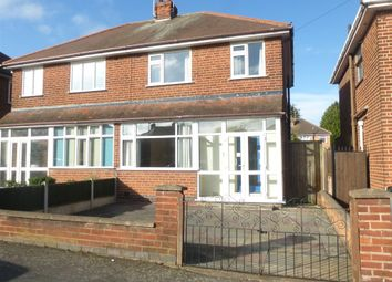 Thumbnail 3 bed semi-detached house for sale in Bembridge Road, Off Anstey Lane, Leicester