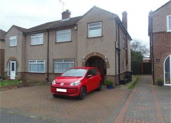 Thumbnail 3 bed semi-detached house for sale in Edinburgh Crescent, Waltham Cross, Hertfordshire