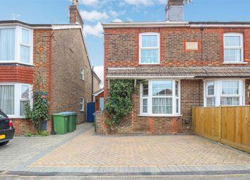 Rusper Road, Horsham RH12. 3 bed semi-detached house