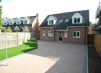 Thumbnail 3 bed detached house for sale in Church Road, Earsham, Bungay
