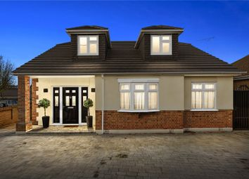 Thumbnail 4 bed detached bungalow for sale in The Crescent, Upminster