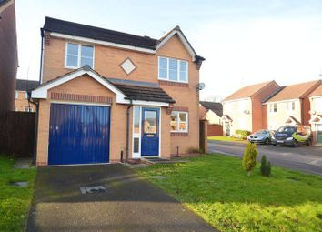 Thumbnail 3 bedroom detached house for sale in Lupin Close, Shirebrook, Mansfield