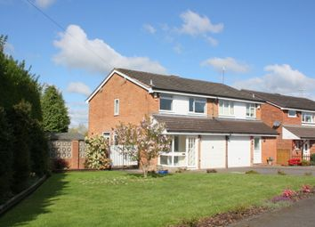 Thumbnail 3 bed semi-detached house to rent in Redland Close, Marlbrook, Bromsgrove