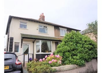 Thumbnail 3 bed semi-detached bungalow for sale in Norton Road, Morecambe