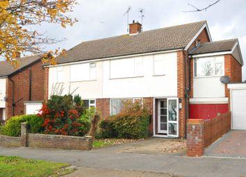 Thumbnail 4 bed semi-detached house for sale in Aldercroft Road, Ipswich