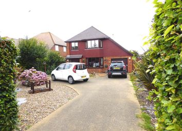 Thumbnail 4 bed detached house for sale in Sandwich Road, Ash, Canterbury