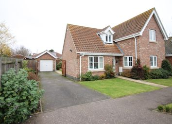 Thumbnail 3 bed detached house for sale in Walnut Tree Avenue, Martham, Great Yarmouth