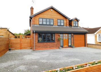 Thumbnail 4 bed detached house for sale in Hartland Avenue, Weeping Cross, Stafford.