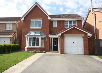 Thumbnail 4 bed detached house for sale in Brompton Avenue, Guisborough