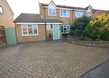 Thumbnail 4 bedroom semi-detached house for sale in Ohio Close, Carlton Colville, Lowestoft