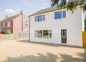 Thumbnail 4 bed detached house for sale in Peterborough Road, Crowland, Peterborough