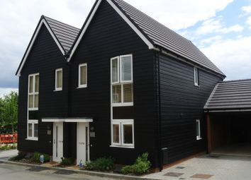 Thumbnail 2 bed semi-detached house to rent in Campion Close, The Bluebells, Ashford