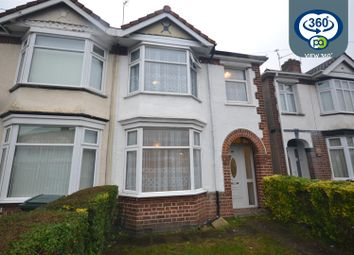 Thumbnail 3 bed end terrace house to rent in Eastcotes, Coventry