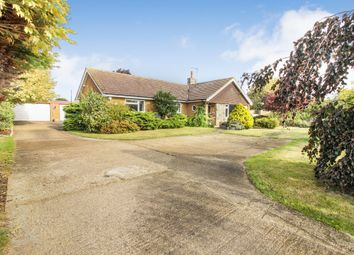 Thumbnail 4 bed detached bungalow for sale in Lound Road, Blundeston, Lowestoft