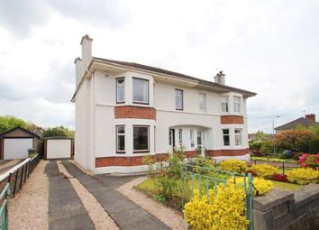 Thumbnail 3 bedroom semi-detached house for sale in Newtyle Road, Ralston, Paisley, .