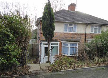 Thumbnail 3 bedroom semi-detached house for sale in Hawkesyard Road, Erdington, Birmingham, West Midlands