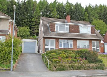 Thumbnail 3 bedroom semi-detached house to rent in Hafod Cwnin, Carmarthen, Carmarthenshire