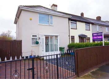 Thumbnail 3 bed end terrace house for sale in Cotherstone Road, Stockton-On-Tees