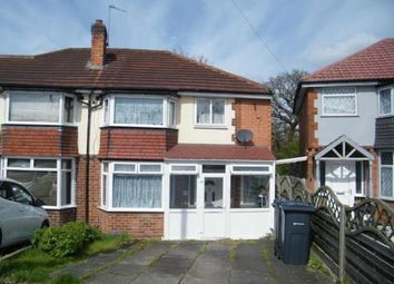 Thumbnail 4 bed semi-detached house for sale in Dunster Close, Birmingham, West Midlands
