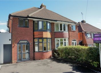 Thumbnail 3 bed semi-detached house for sale in Yarningale Road, Birmingham