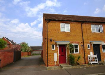 Thumbnail 2 bed end terrace house for sale in Sharnbrook Avenue, Hampton Vale, Peterborough