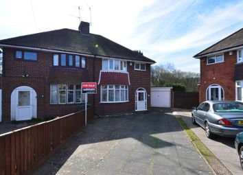 Thumbnail 3 bed semi-detached house for sale in The Grove, Cofton Hackett, Birmingham