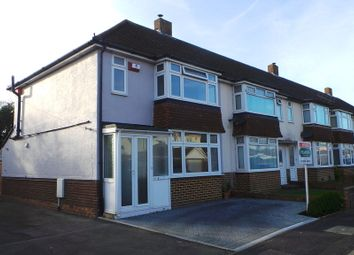 Thumbnail 3 bed end terrace house to rent in Geoffrey Crescent, Fareham